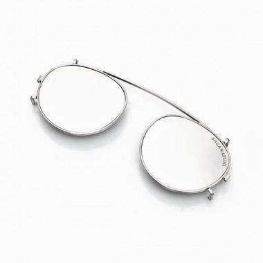NOBU/YOSHI Clip-On silver black (m)
