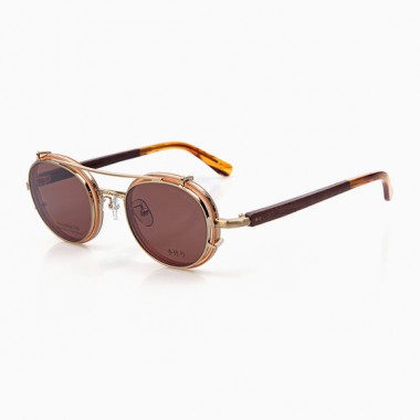 YOSHI t01 & Clip-On g brown