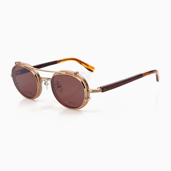 YOSHI t01 & Clip-On gold brown